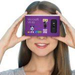 微軟也玩紙盒式 VR 頭盔