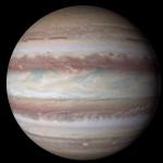 利用 4K 影像來看木星,NASA 發現了其中許多細微的變化