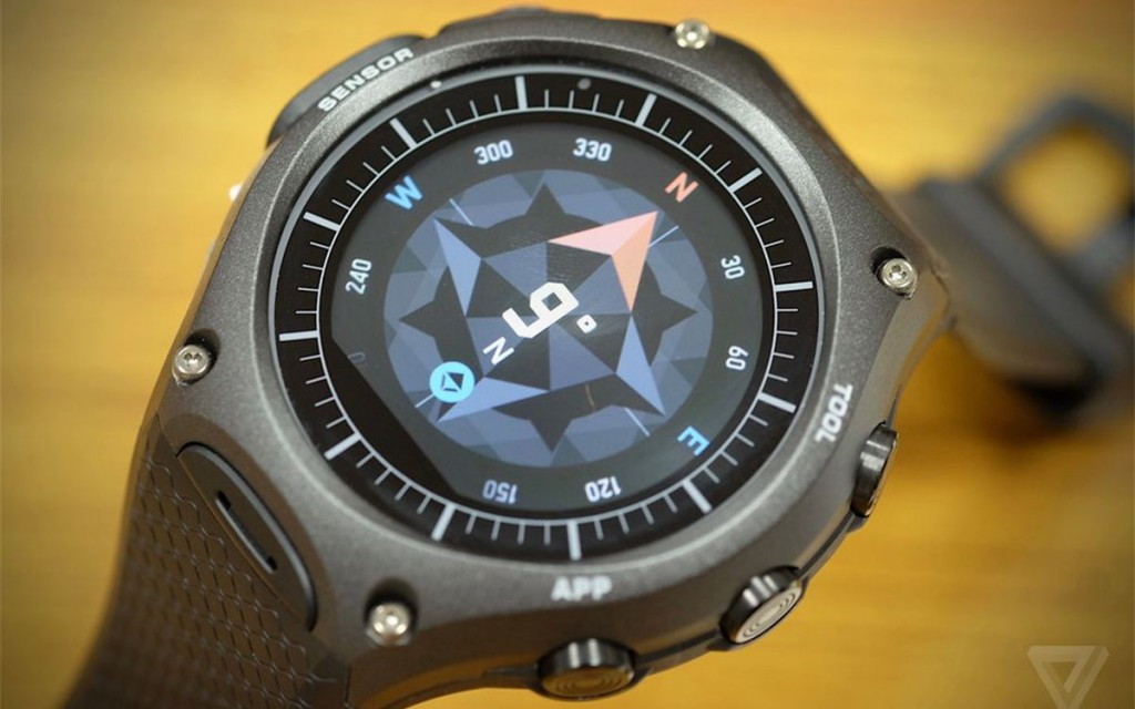 【CES 2016】CASIO 推出首款智慧錶,造型、功能都有他自己風格