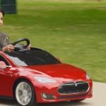 買不起電動車特斯拉?只要你坐的下,或許可以嘗試 Tesla Model S 兒童版