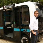第一臺 3D 列印的自駕小巴士 Olli 即將上路