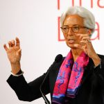 圖片來源:《達志影像》International Monetary Fund (IMF) Managing Director Christine Lagarde delivers a speech in Vienna, Austria, June 17, 2016.  REUTERS/Leonhard Foeger - RTX2GQFB