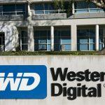 下載自美聯社 A logo sign outside an office building occupied by the Western Digital Corporation, in San Jose, California, on December 31, 2014. Photo Credit: Kristoffer Tripplaar/ Sipa USA *** Please Use Credit from Credit Field ***