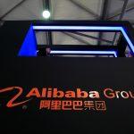 下載自路透 A sign of Alibaba Group is seen at CES (Consumer Electronics Show) Asia 2016 in Shanghai, China, May 12, 2016. REUTERS/Aly Song/File Photo - RTSFYKR