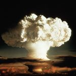 """- 1952 FILE PHOTO - The mushroom cloud of the first test of a hydrogen bomb, """"Ivy Mike"""", as photographed on Enewetak, an atoll in the Pacific Ocean, in 1952, by a member of the United States Air Force's Lookout Mountain 1352d Photographic Squadron. The top secret  film studio,  then located in Hollywood, California,  produced thousands of classified films for the Department of Defence and the Atomic Energy Commission beginning in 1947. A 50th anniversary tribute to these """"Atomic Cinematographers"""" and their work is planned for October 22 in Hollywood. BEST QUALITY AVAILABLE - RTXH6PO"""