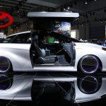 下載自路透 The Toyota Mirai Back to the Future concept vehicle is seen at the Washington Auto Show in Washington January 29, 2016.  REUTERS/Gary Cameron - RTX24Z1O
