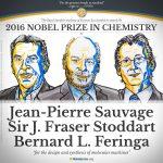 2016 諾貝爾化學獎:來自英、法、荷的 3 名學者以「設計與合成分子機械」研究獲獎