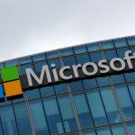 圖片來源:《達志影像》 圖片取自路透社 The logo of Microsoft is pictured in Issy-les-Moulineaux, France, August 8, 2016. REUTERS/Jacky Naegelen/File Photo                GLOBAL BUSINESS WEEK AHEAD PACKAGE    SEARCH BUSINESS WEEK AHEAD 17 OCT FOR ALL IMAGES - RTX2P3EV