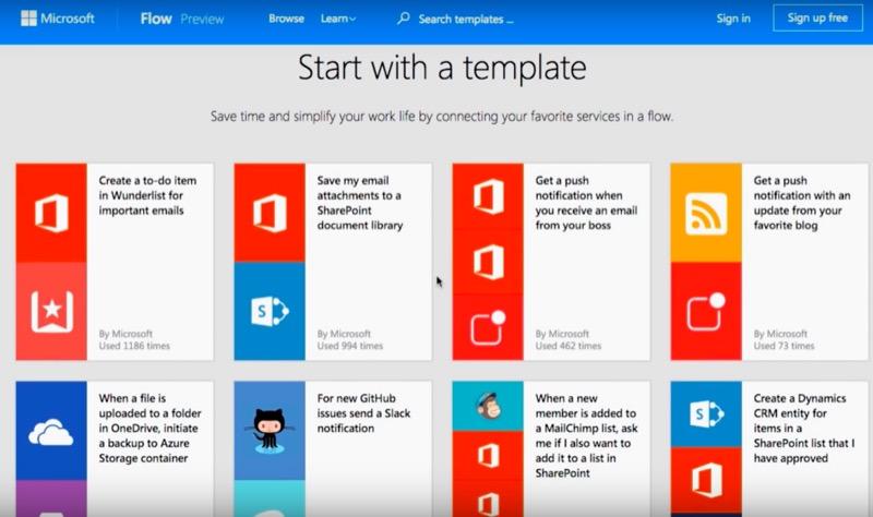 微軟正式推出 PowerApps 與 Flow,讓不懂程式的人也能打造 App
