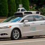 Uber 無人駕駛車 自駕車 取自 Uber 官網: