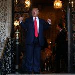圖片來源:《達志影像》 圖片取自路透社 U.S. President-elect Donald Trump talks to members of the media after a meeting meeting with Pentagon officials at Mar-a-Lago estate in Palm Beach, Florida, U.S., December 21, 2016. REUTERS/Carlos Barria - RTX2W31W