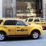 Hybrid taxis in Manhattan