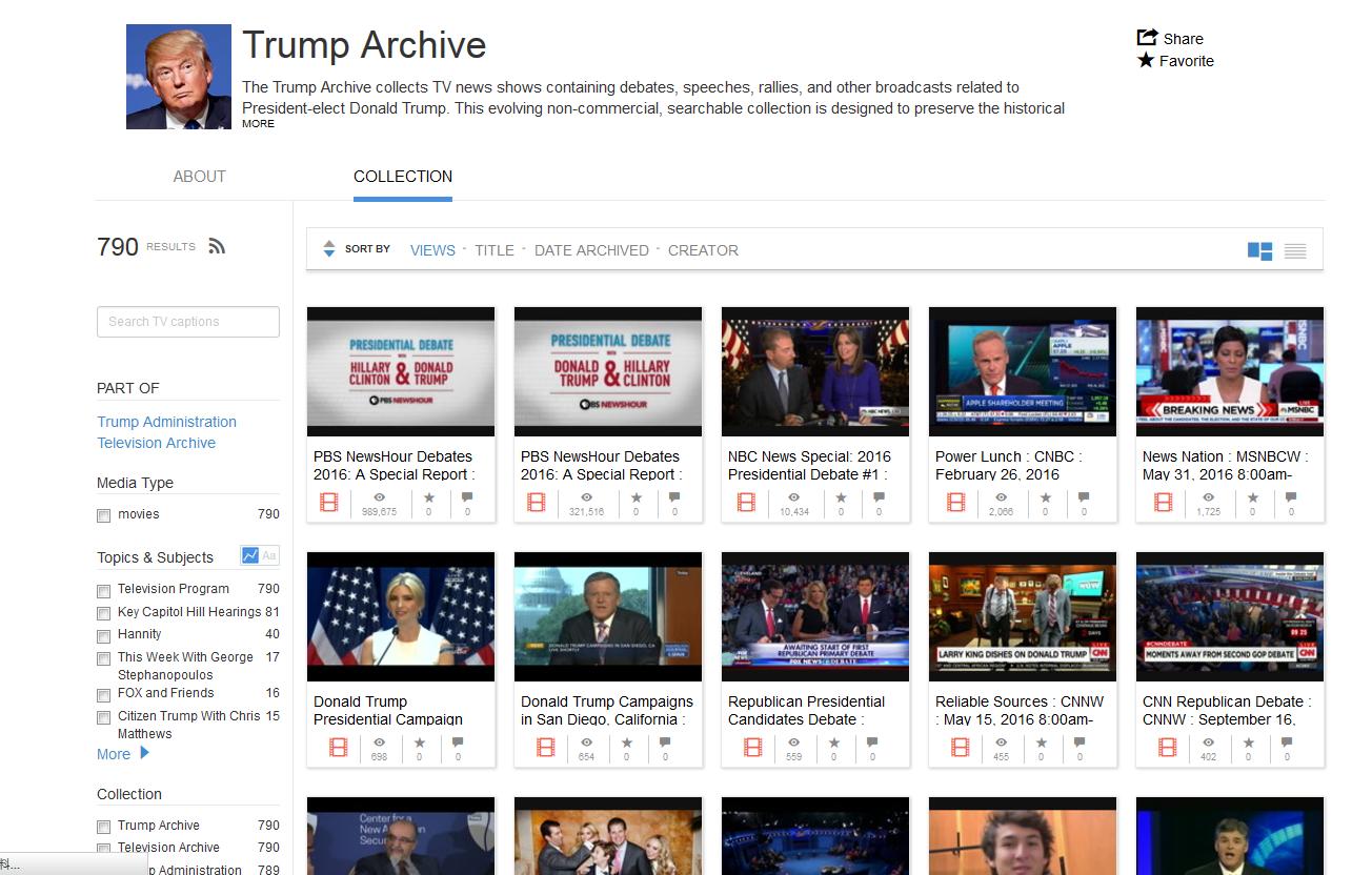 2017-01-09 Trump Archive