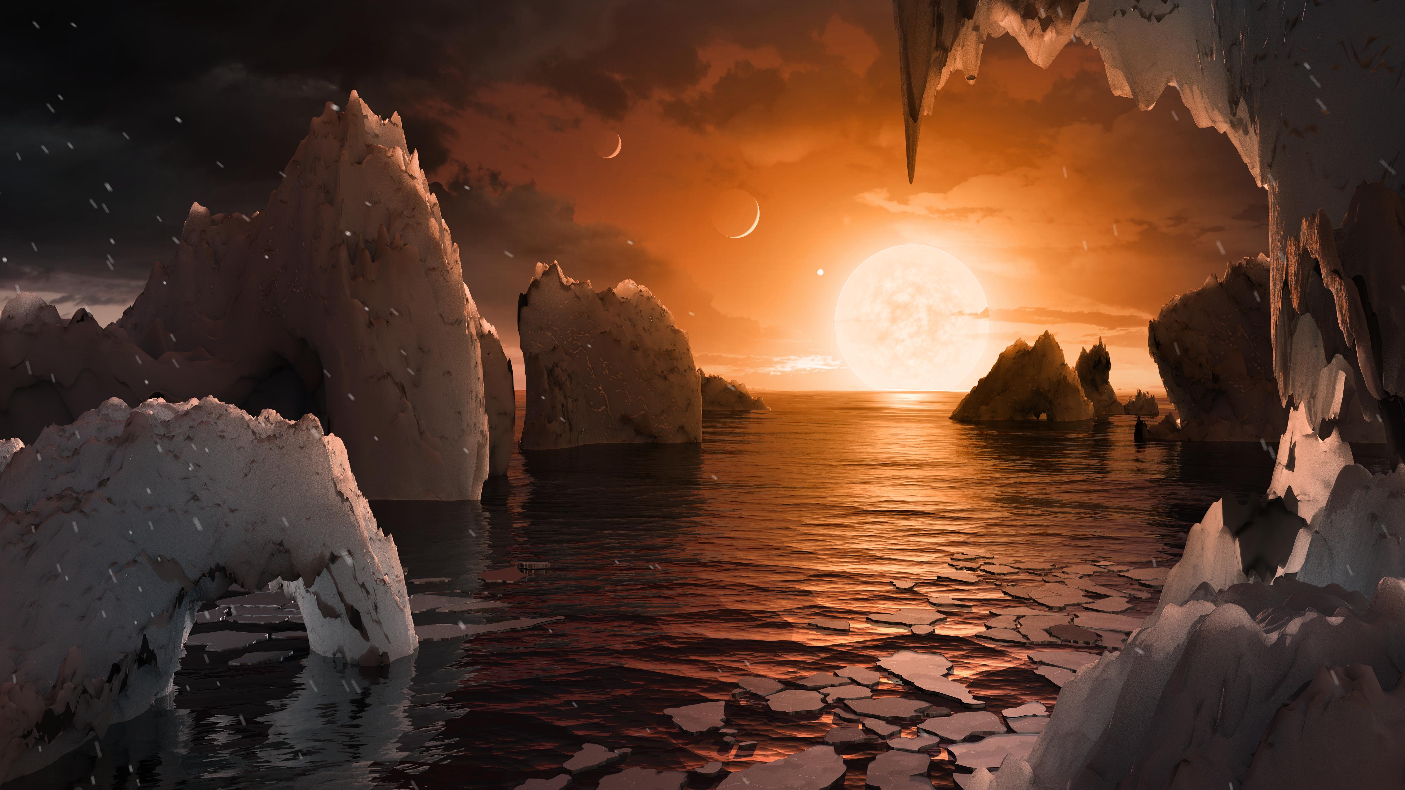 TRAPPIST-1 圖片來源:NASA
