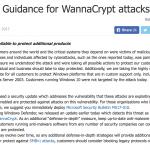 WanaCrypt0r 2.0 來勢洶洶,微軟破例為已停止支援的 Windows XP 釋出更新