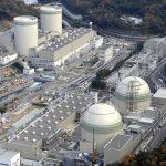 下載自路透 An aerial view shows No. 4 (front L), No. 3 (front R), No. 2 (rear L) and No. 1 reactor buildings at Kansai Electric Power Co.'s Takahama nuclear power plant in Takahama town, Fukui prefecture, in this photo taken by Kyodo November 27, 2014.    Kyodo/File Photo via REUTERS  ATTENTION EDITORS - THIS IMAGE WAS PROVIDED BY A THIRD PARTY. EDITORIAL USE ONLY.  MANDATORY CREDIT. JAPAN OUT. NO COMMERCIAL OR EDITORIAL SALES IN JAPAN  - RTX2GOM5