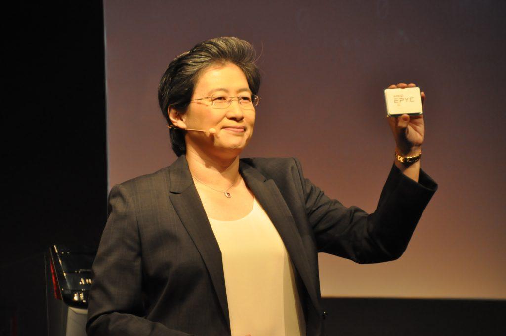 AMD 蘇姿豐:2018 年要拿桌上型 20% 市占,未來還將提高至 40%