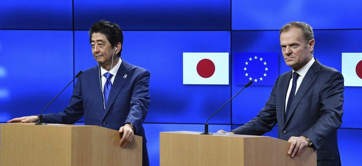 日歐將宣布 EPA 架構協議,新經濟圈成形