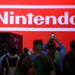下載自路透 The Nintendo booth is shown at the E3 2017 Electronic Entertainment Expo in Los Angeles, California, U.S. June 13, 2017.  REUTERS/ Mike Blake - RTS16YGI