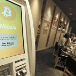下載自美聯社 Numazuko Ginza, a conveyor belt sushi bar, receives a bitcoin system, a universal digital currency, in Ginza, Tokyo on April 19th, 2017. The use of Bitcoin demand at restaurants and online sale is rising in Japan. ( The Yomiuri Shimbun via AP Images )