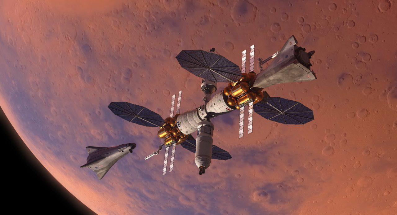 軍火龍頭發表最新火星著陸器,可往返火星基地營
