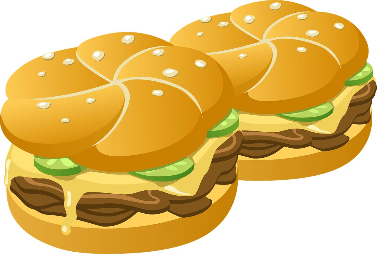 漢堡表情符號大比拚!Google 的漢堡竟然要「倒著吃」