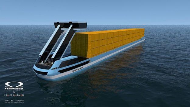 號稱「運河界特斯拉」,無人電動貨櫃駁船艦隊今夏首航 - 華安 - ceo.lin的博客