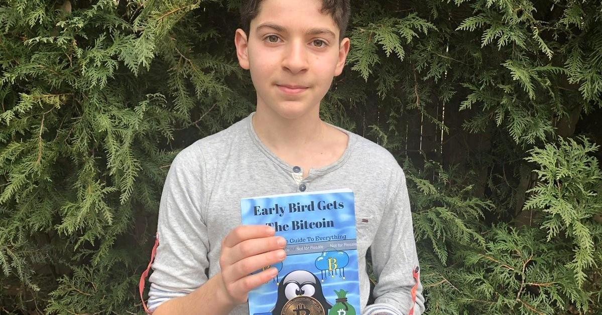 亞馬遜 5 顆星好評!11 歲的比特幣專家,寫書讓世人都搞懂虛擬貨幣