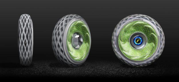 固特異推出概念型「青苔輪胎」,邊行走邊吸碳吐氧 - 華安 - ceo.lin的博客