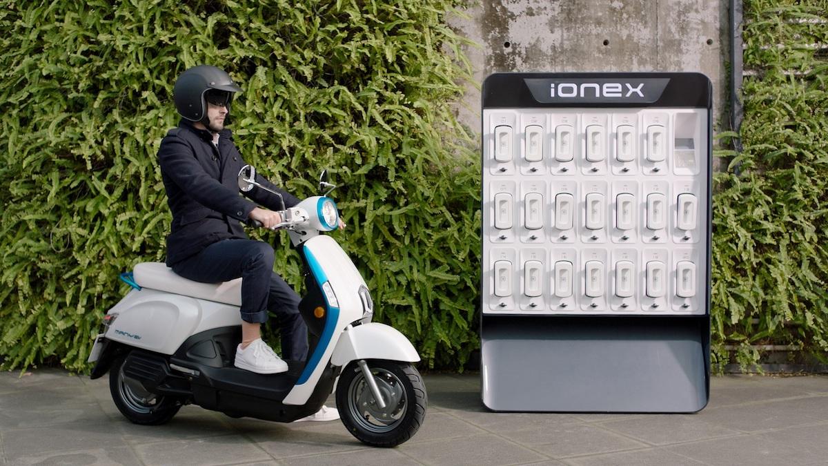 充電與換電並行!光陽發表 Ionex 車能網,挑戰 3 年賣 50 萬輛電動車