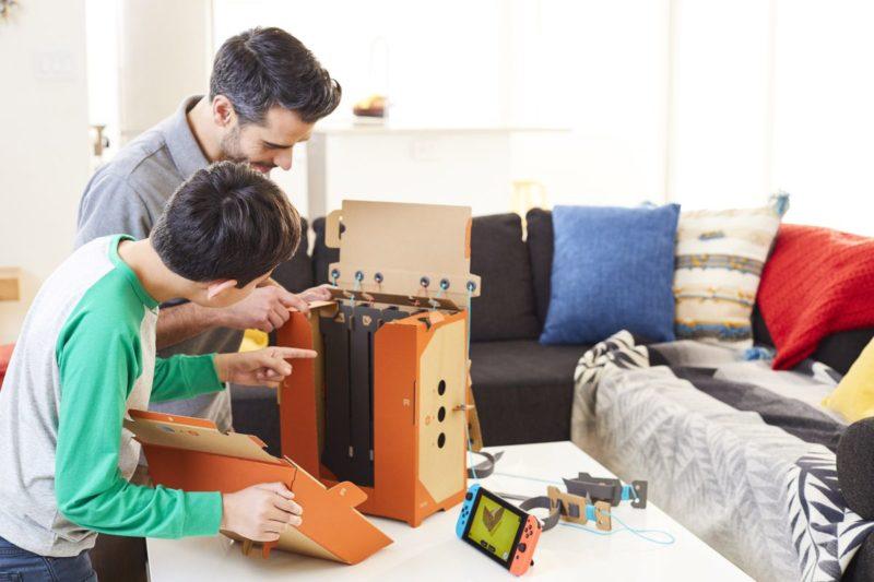 Nintendo Labo 誕生開發過程始末:童年紙板回憶與動手樂趣的整合