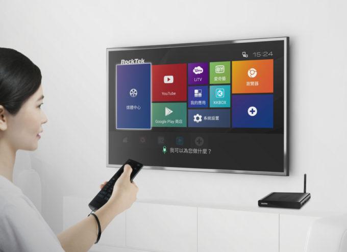 RockTek 推出全台首創全中文 AI 人工智慧語音電視盒