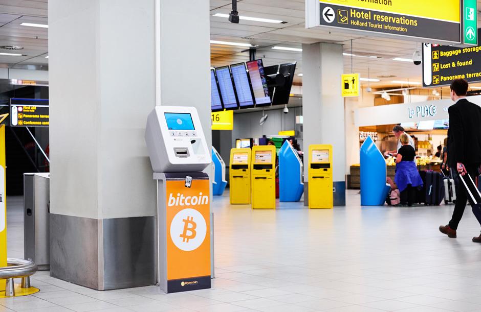 比特幣 ATM 已經進駐機場了