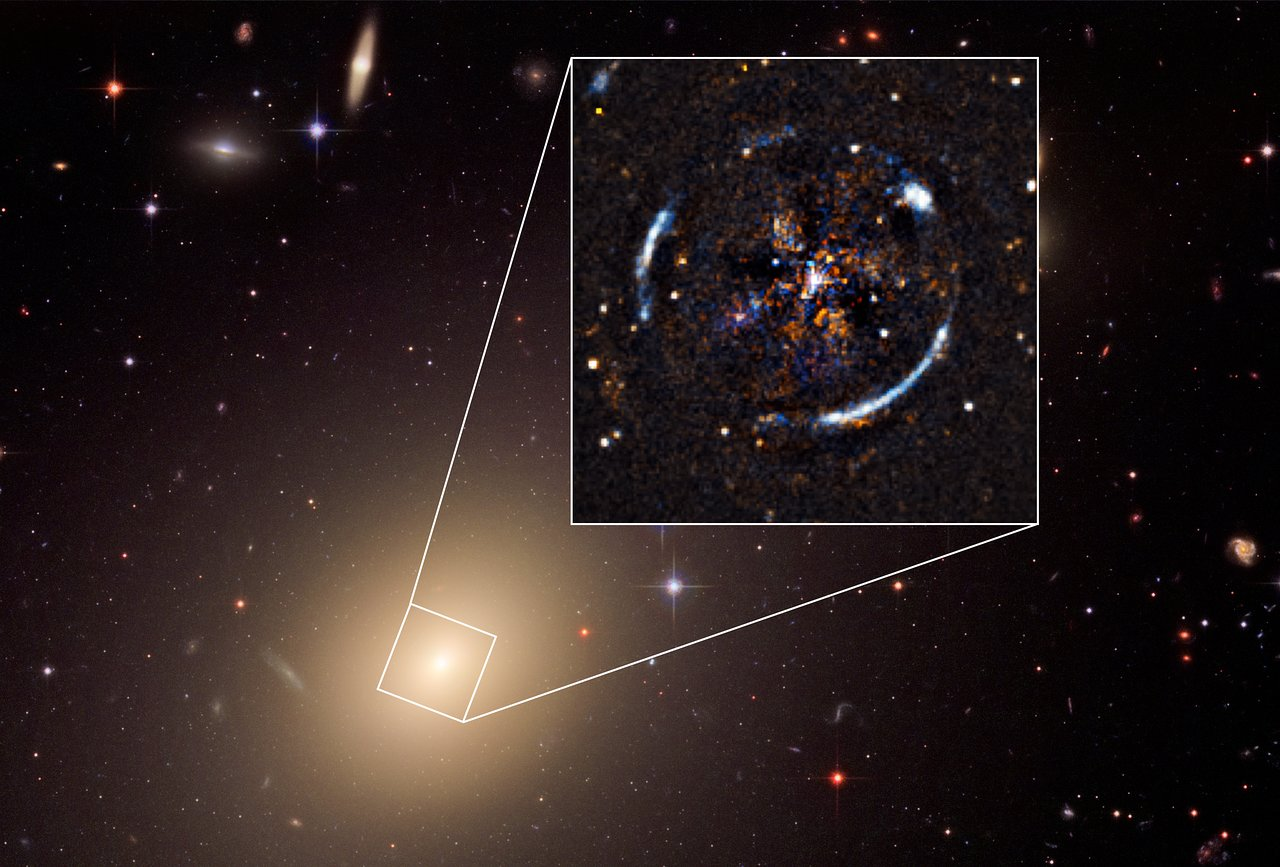 最精確星系重力透鏡效應研究,再次強化愛因斯坦是對的
