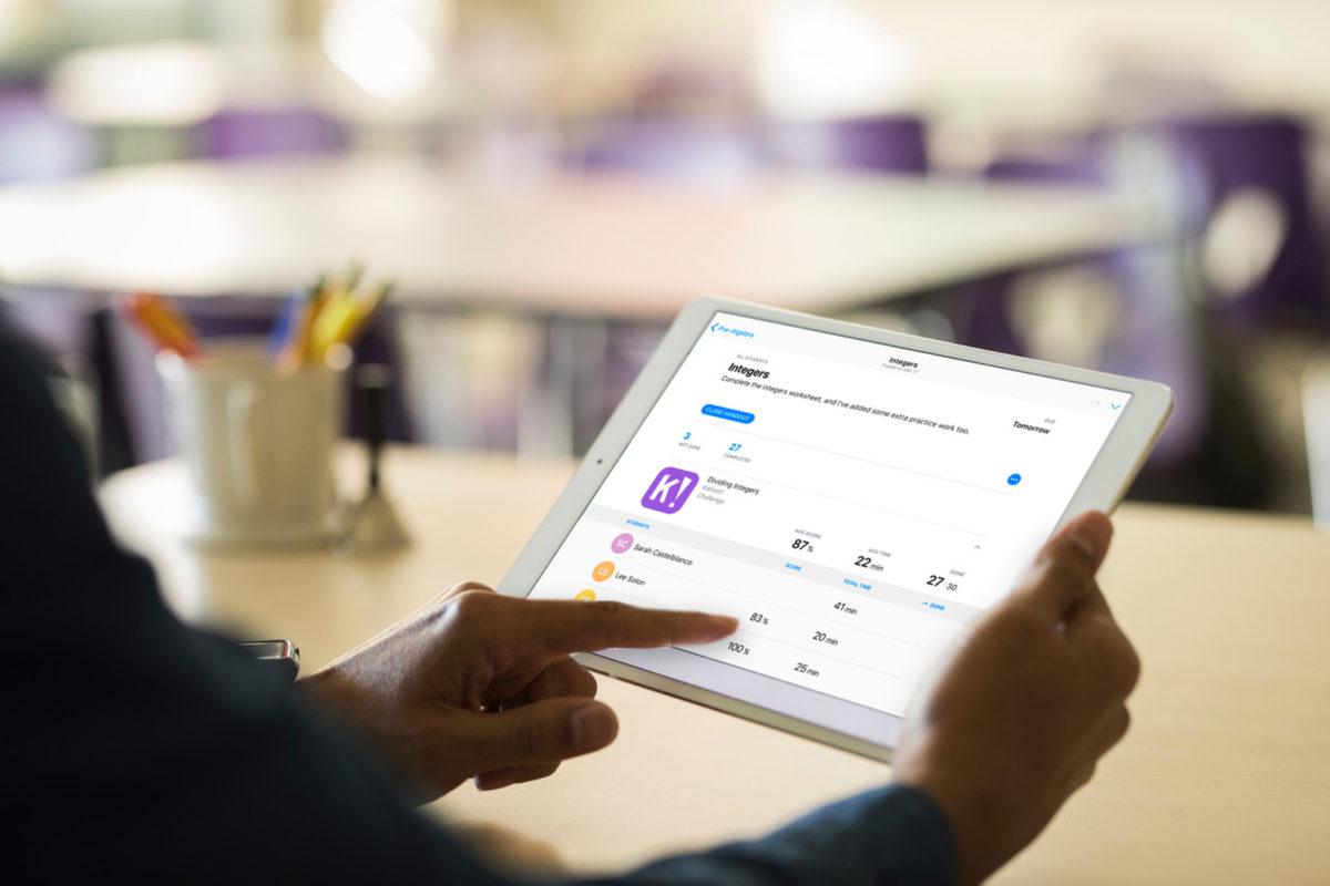 蘋果 Schoolwork 功課 App 正式開放教師使用
