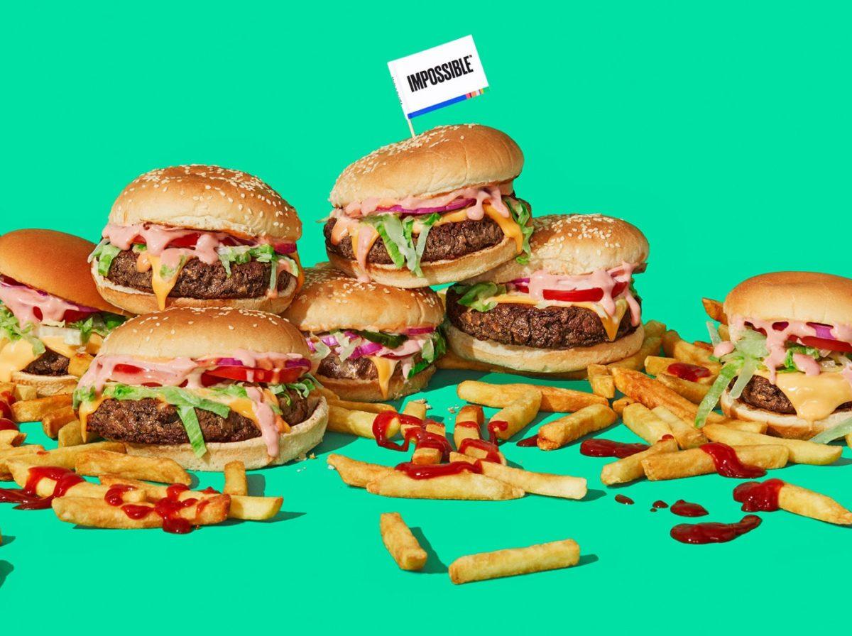 充滿牛肉味的人造肉素食漢堡,通過美國 FDA 安全認證