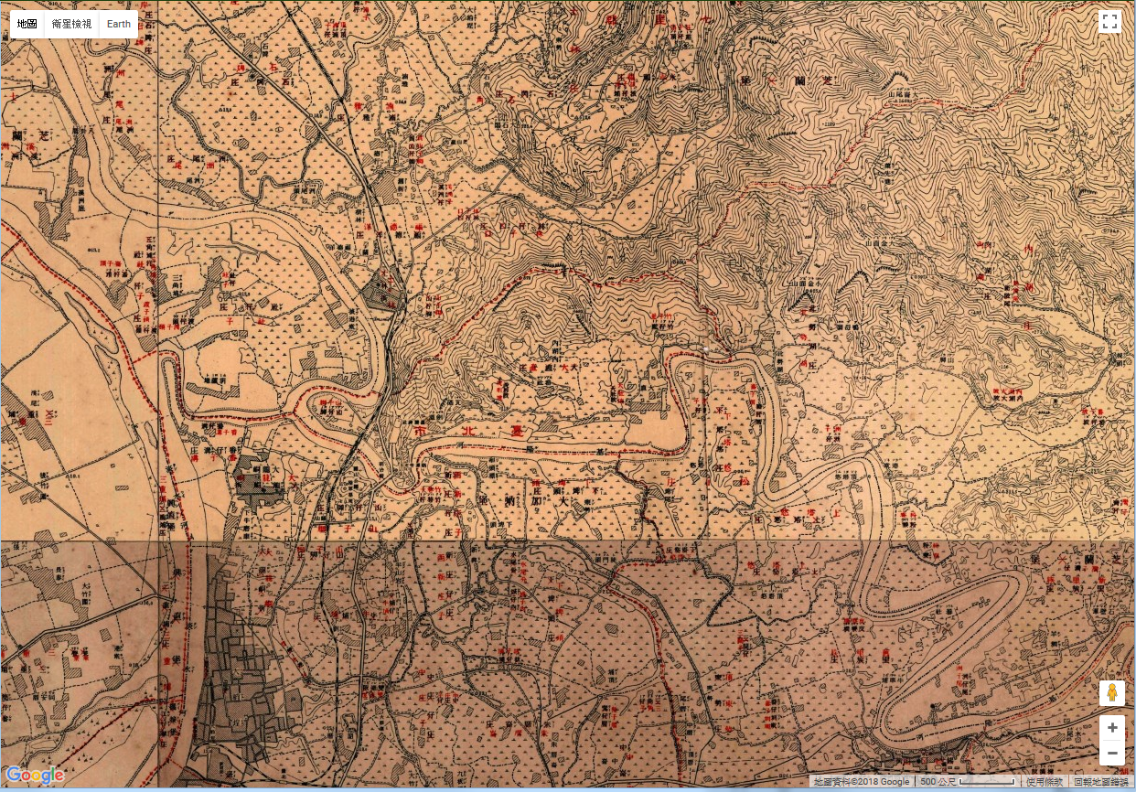 地圖控和歷史研究者的福音,中研院台灣百年歷史地圖介接登山常用圖層魯地圖