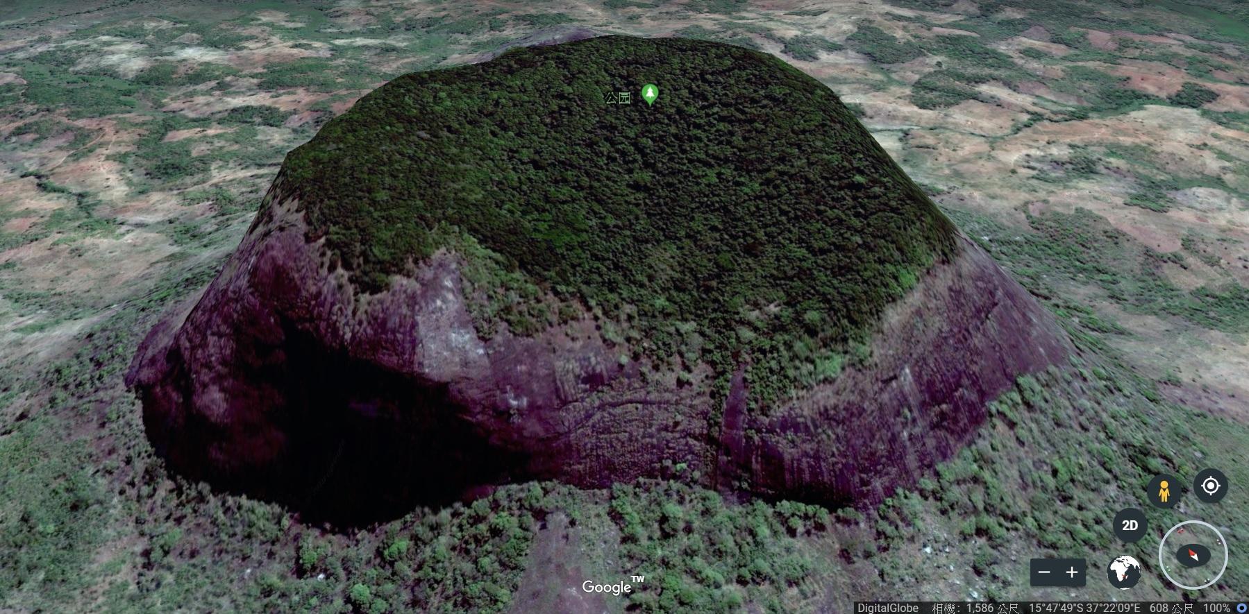 地球最後的祕密花園,是蝴蝶專家用 Google Earth 發現的
