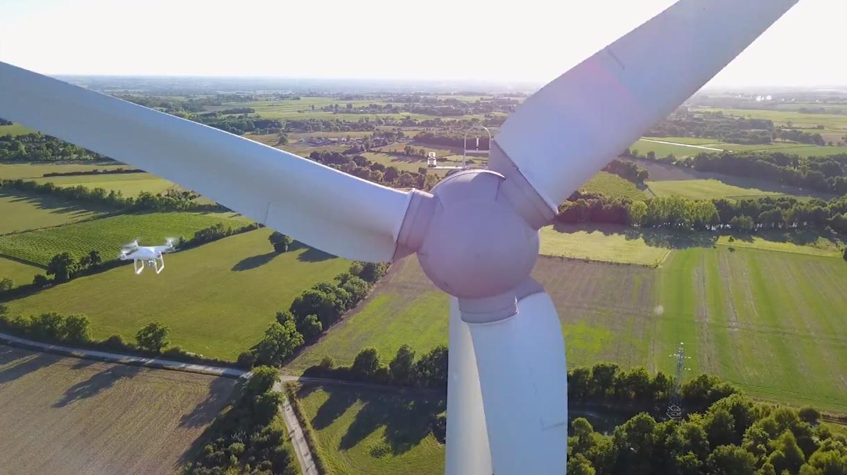無人機檢測風機,可提升效率、作業安全性並降低成本