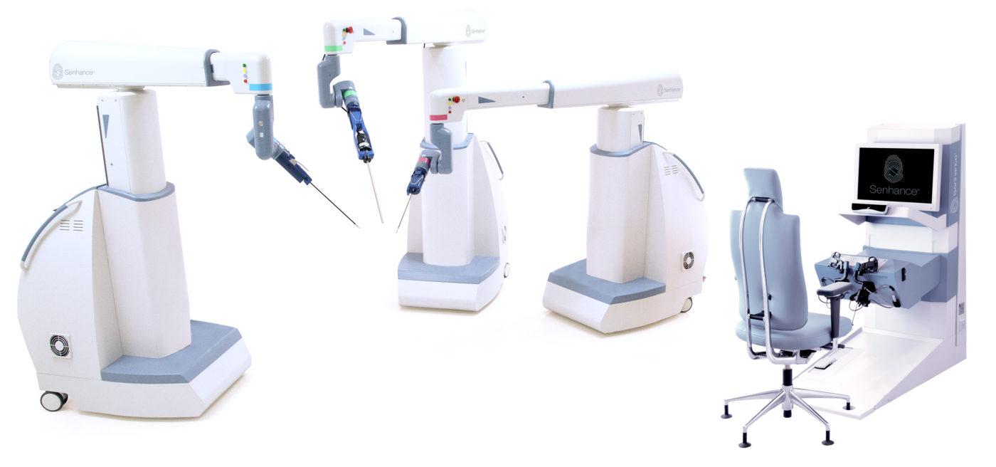 被稱為達文西手術機器人「終結者」的 Senhance 獲得 CE 認證