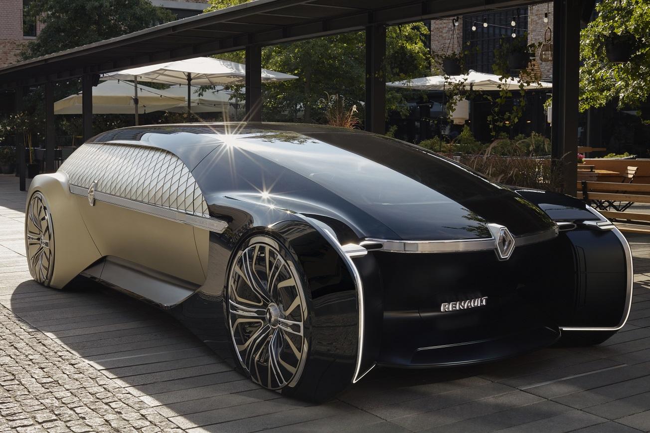 雷諾發表自動駕駛 Z-Ultimo 概念車
