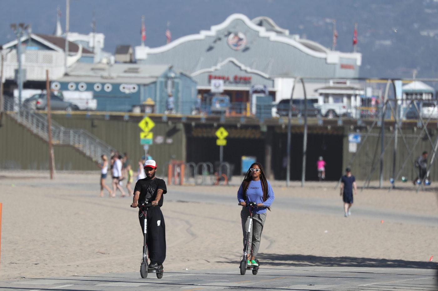 Uber 加入共享滑板車角逐,首批滑板車正式登陸聖塔莫尼卡