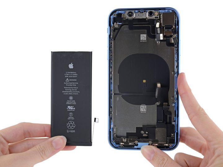 表示 iphone 電池