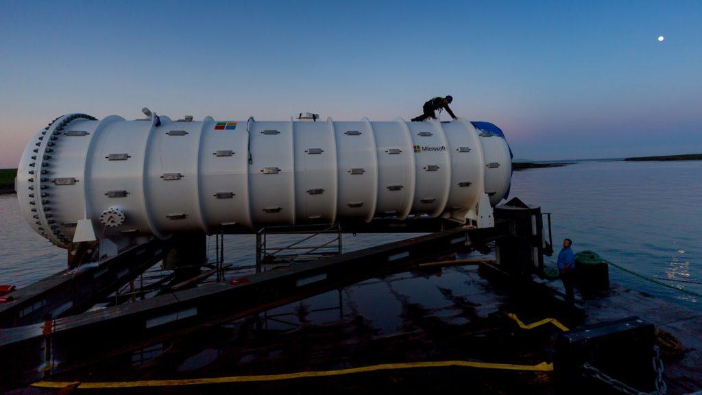 微軟測試水下資料中心使用,未來將擴大範圍提供雲端運算服務