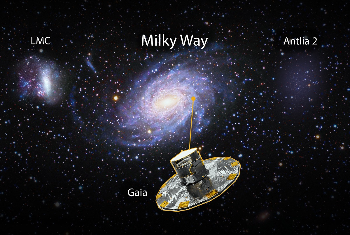 新發現巨大衛星星系藏銀河系外,暗物質可能填充其中