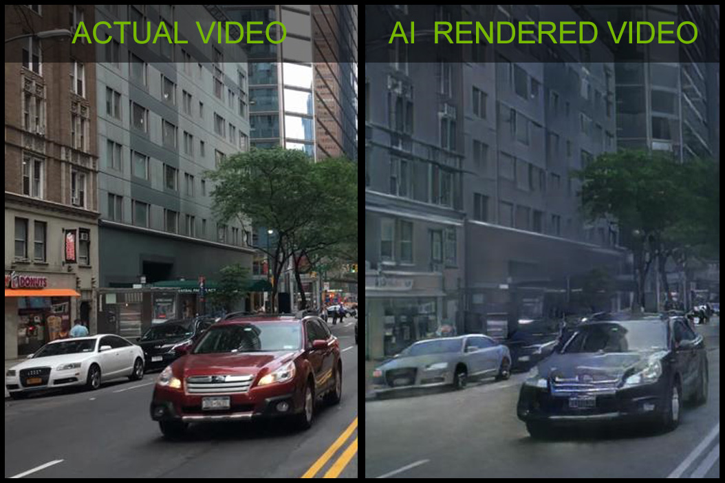 Nvidia 用 AI 打造虛擬世界,模擬真實世界互動環境