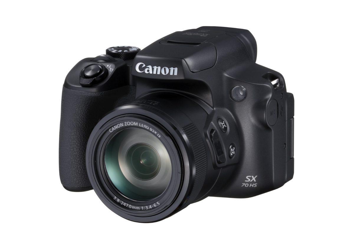 Canon PowerShot SX70 HS 上市,搶攻旅遊族群