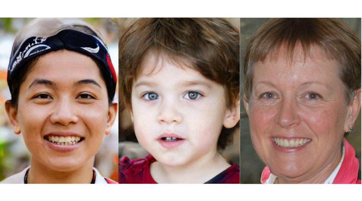 這 3 張照片中哪一個是真人?答案:都不是!歡迎來到人工智慧能騙過肉眼的時代