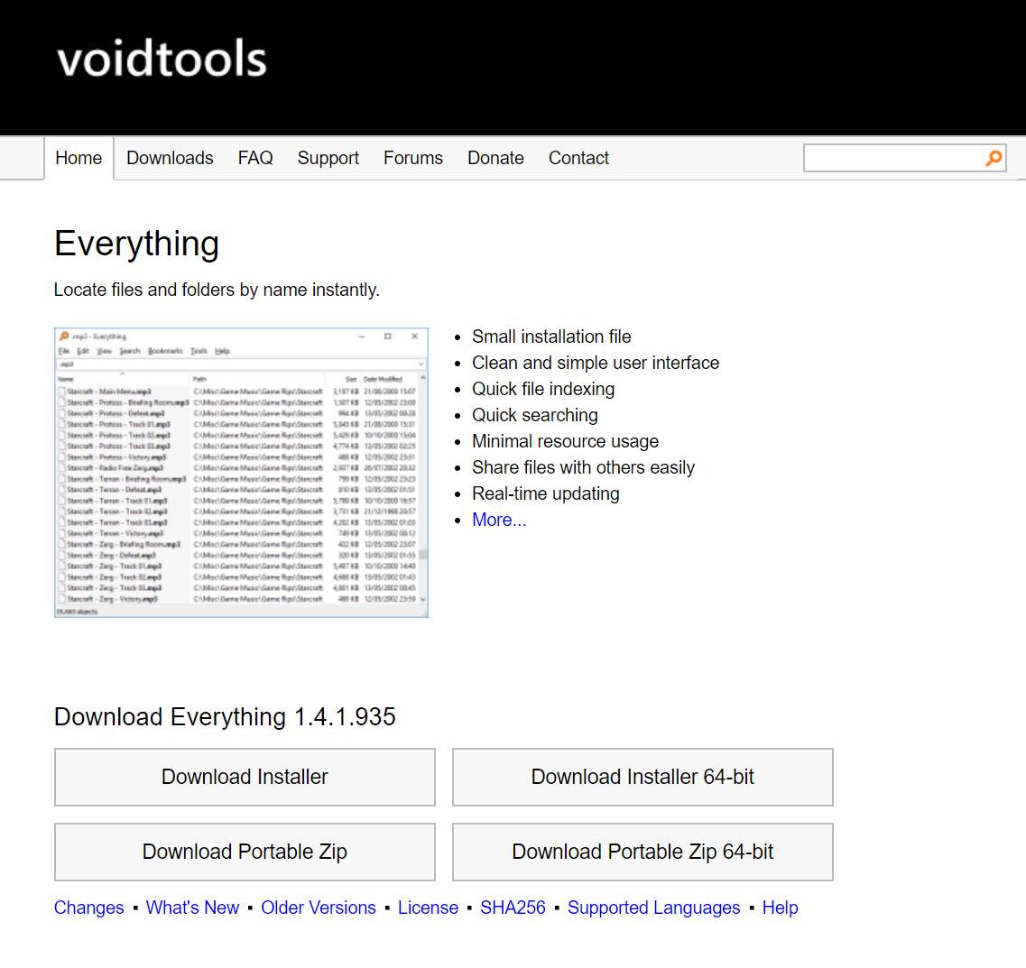 【Windows 必裝軟體】Everything──讓 Windows 也有像 Mac 的 Spotlight 搜尋功能