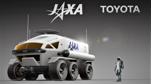 豐田月球 SUV 概念曝光,下一站是火星